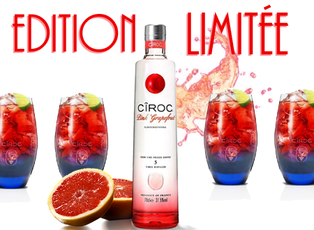 Edition limitée : Cîroc Pink Grapefruit