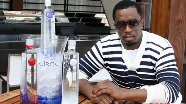 Puff Daddy et la vodka Cîroc