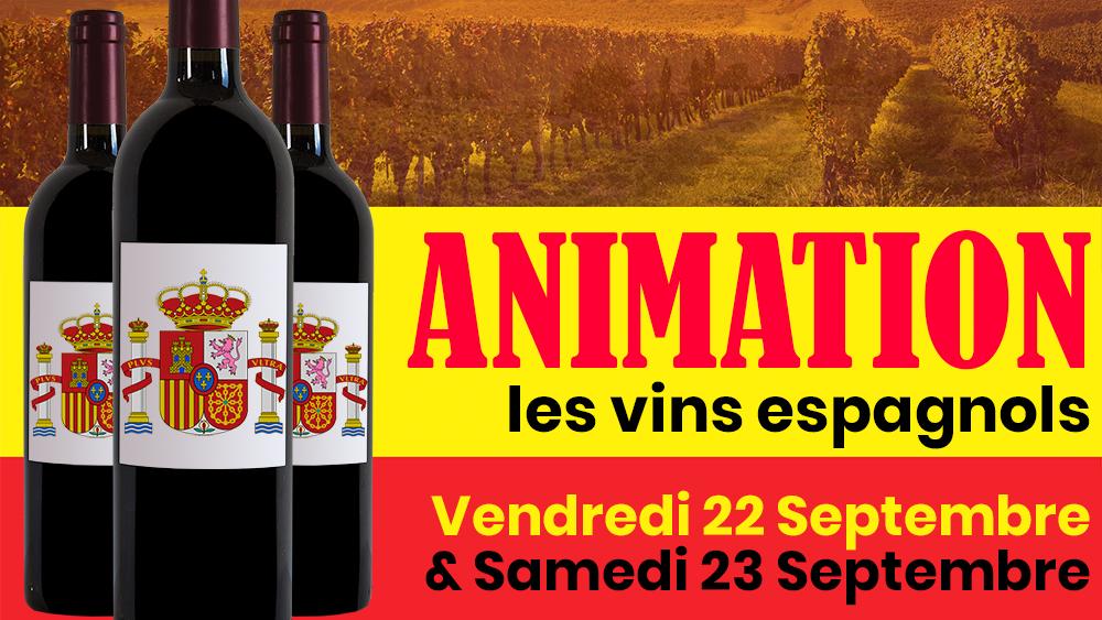 Dégustation vins espagnols chez Cave Bruant
